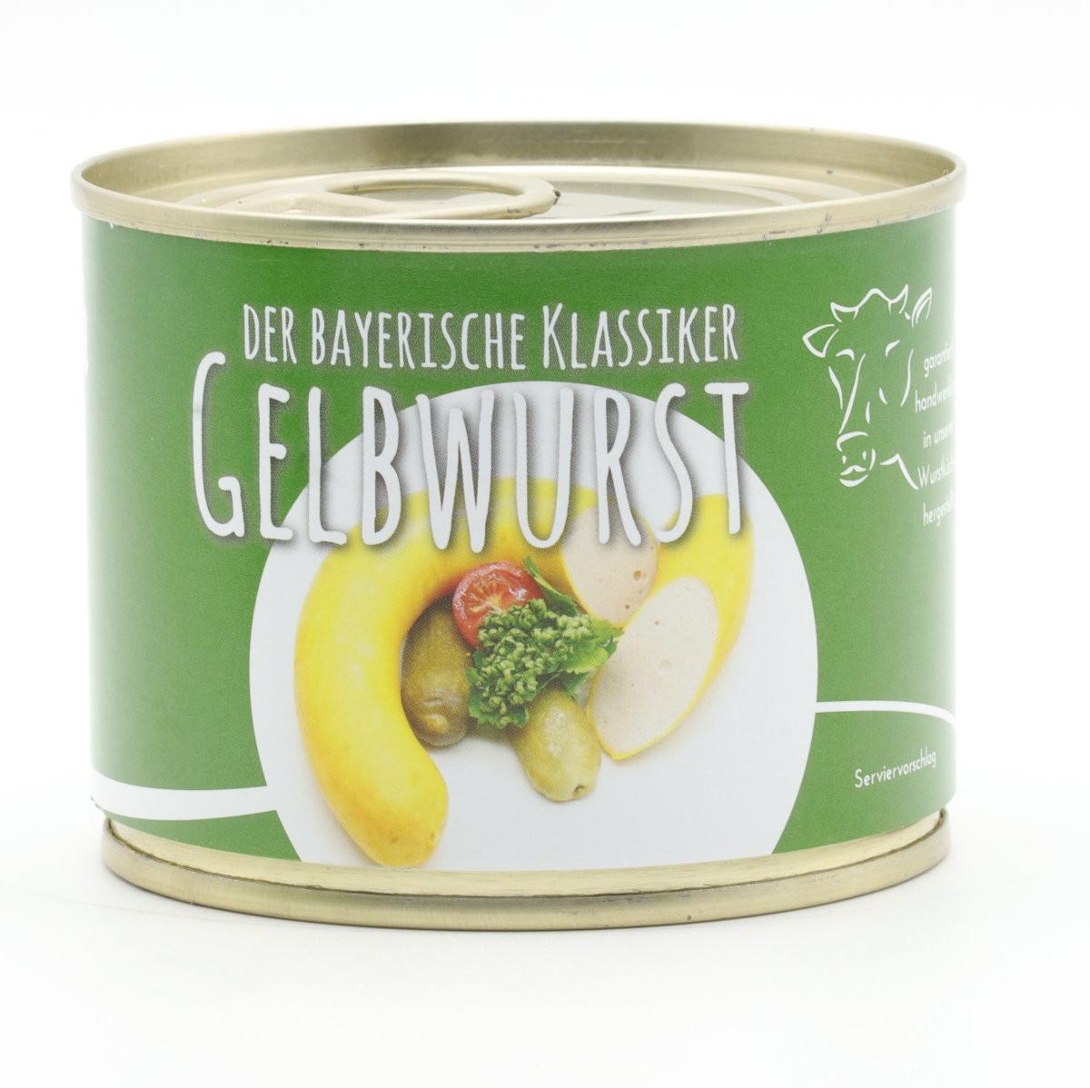 Gelbwurst in der Konserve - 200g - Diem - Konserve - Langes MhD