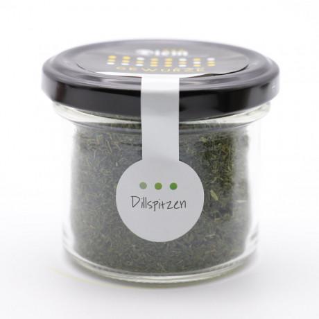 Dillspitzen perfekt zu Salaten und Fisch - 17g im Weckglas