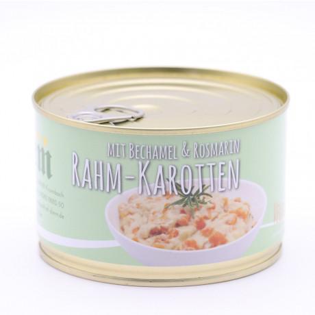 Karotten Rahm Ragout mit Bechamelsoße und Rosmarin 400g