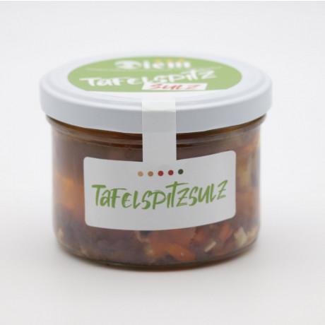 Tafelspitzsulz - Sülze aus Rinder Tafelspitz mit Natur Aspik im Glas 200g (Default)