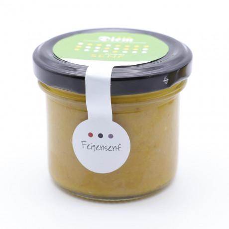 Feigen Senf Sauce  - perfekt zu Käse und Lamm-  Weckglas 120g