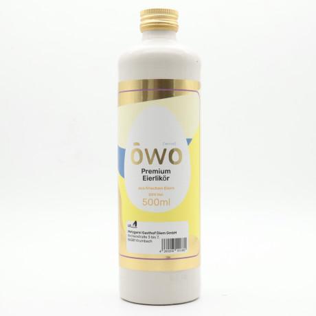 ŌWO - Öwo Premium Eierlikör 500ml 20%. Vol