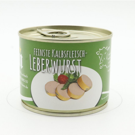 Kalbsleberwurst Front