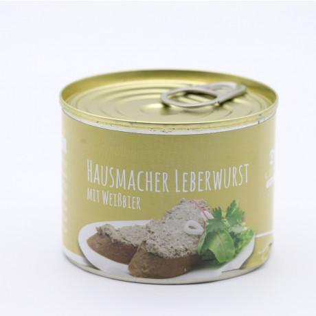 Weissbier Leberwurst FRONT