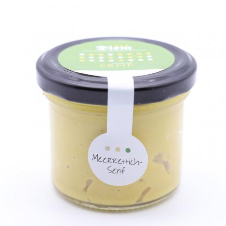Meerrettichsenf - Der würzige Senf mit Meerrettich verfeinert im Weckglas 120g (Default)