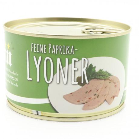 Paprika-Lyoner / Paprika-Fleischwurst 400g