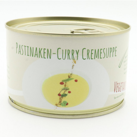 Pastinaken-Curry-Cremesuppe