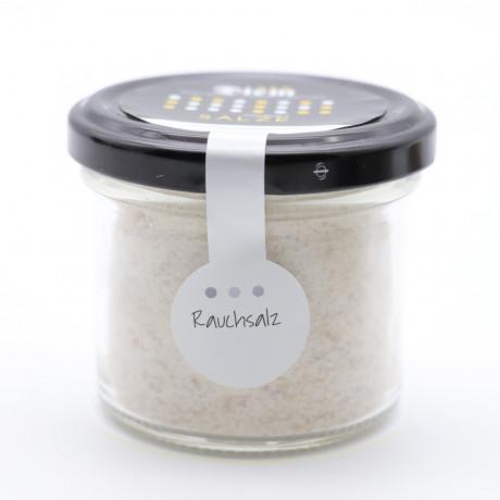 Rauchsalz – Geräuchertes Salz aus unserer historischen Rauchkammer 125g