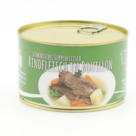 Rindfleisch in Boullion – Schwäbisches Suppenfleisch vom Rind 400g